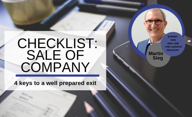 Checklist: Preparation for the sale of a company