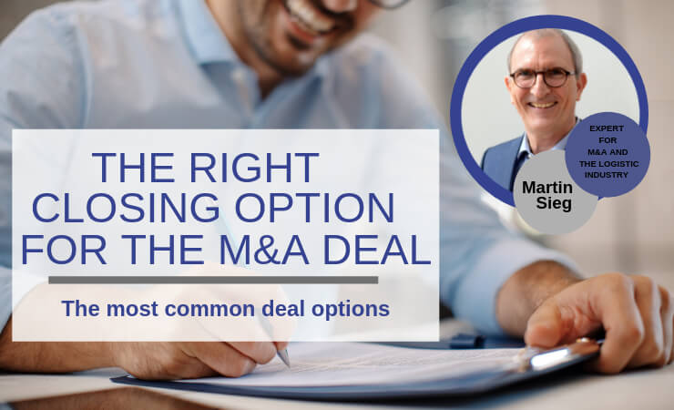 Which deal is the right one for an M&A deal?